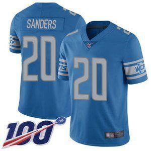 Detroit Lions Barry Sanders 100th Season Jersey